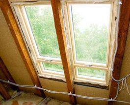Remont dachu od strony poddasza